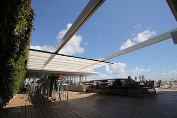Manual VS Motorized Retractable Fabric Roof Structures