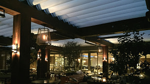 Retractable Roof Canopy System