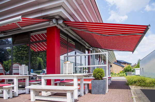 The Evolution of Commercial Canopies & Awning