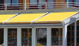 Adding Value to Your Hotel with Commercial Retractable Awnings