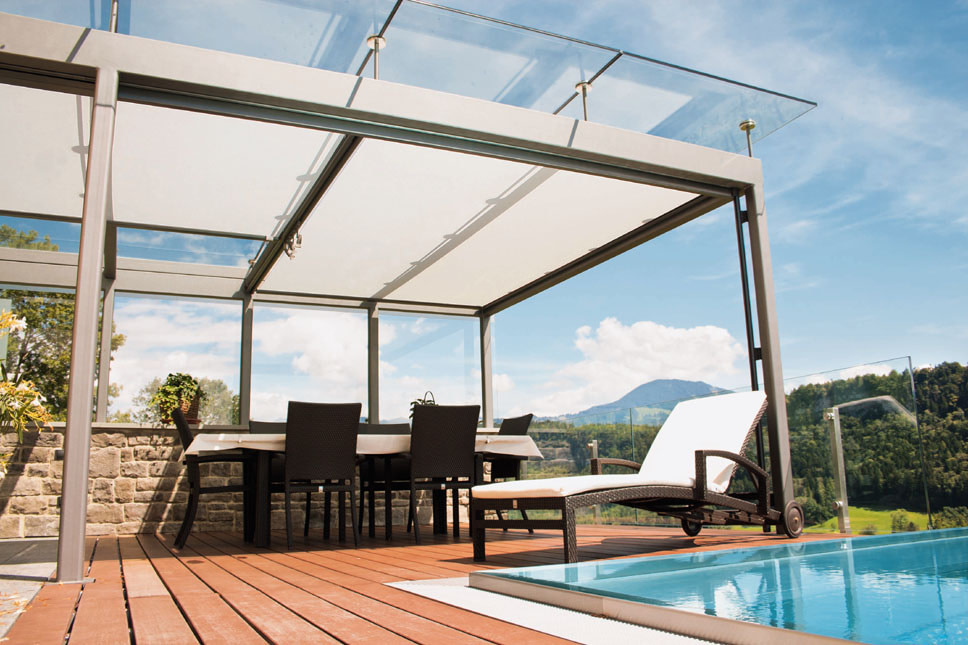 Add Luxury to Your Apartment Complex with Commercial Retractable Canopies