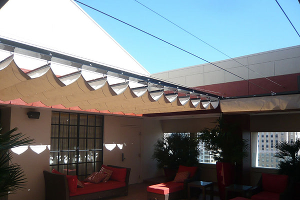 Slide On Wire Canopy System