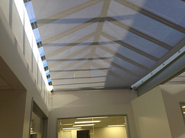 Retractable Slide Wire Canopy